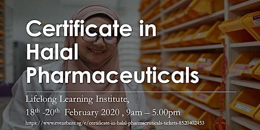Certificate in Halal Pharmaceuticals