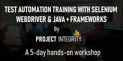 Test Automation Training with Selenium WebDriver and Java, Plus Frameworks
