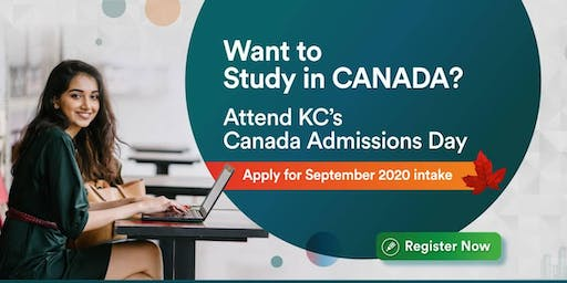 Want to Study in Canada? Attend Canada Admissions Day at KC Pune - 12th Dec
