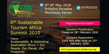 Sustainable Tourism Africa Summit 2020 tickets