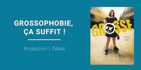 Projection-débat : GROSSOPHOBIE, ça suffit ! billets