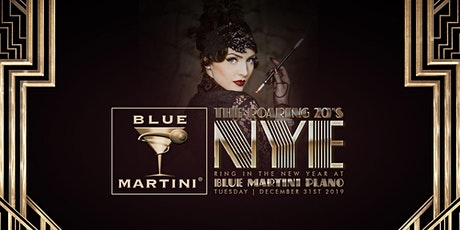 Blue Martini Plano Roaring 20's New Year's Eve 2020 tickets