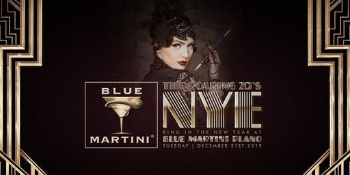 Blue Martini Plano Roaring 20's New Year's Eve 2020