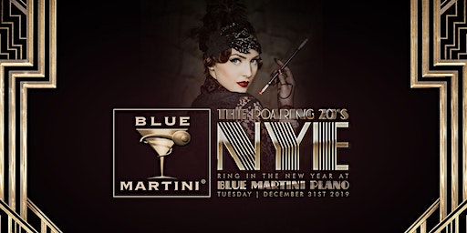 Blue Martini Plano Roaring 20's New Year's Eve 2020