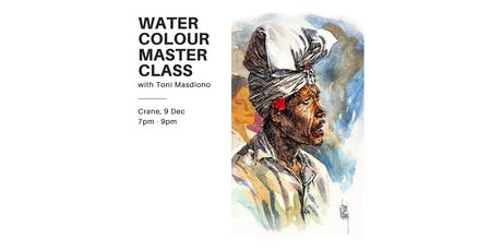 Watercolour Masterclass tickets