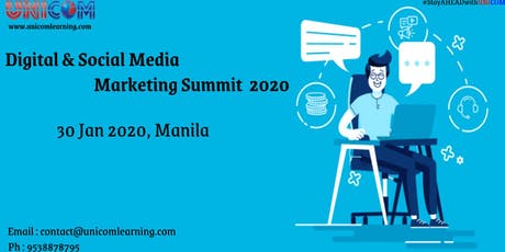 Digital & Social Media Marketing Summit 2020 - Manila tickets