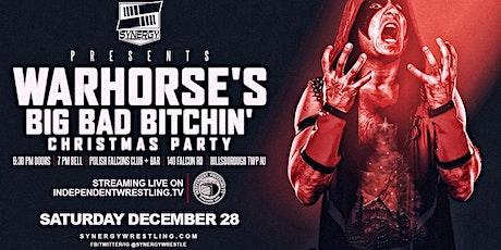 WARHORSE's Big Bad Bitchin' Christmas Party LIVE on IWTV tickets