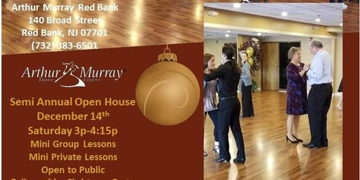 Open House with Mini Group & Private Dance lessons Arthur Murray Red Bank