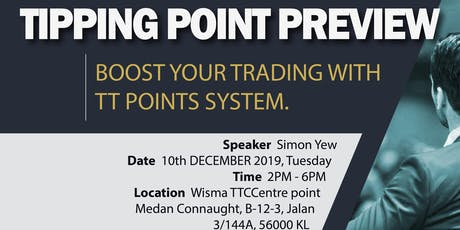 CP Markets Exclusive Tipping Point Preview (Free Event) tickets