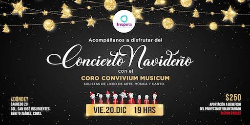 CDMX.   Concierto de Navidad