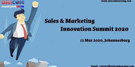 Sales & Marketing Innovation Summit  2020 - Johannesburg tickets