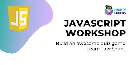 JavaScript Workshop tickets