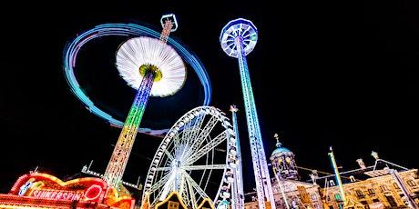 Avondfotografie wandeling Amsterdam Light Festival tickets