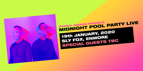 Midnight Pool Party LIVE tickets