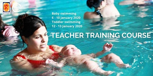 Baby swimming teacher training 2020