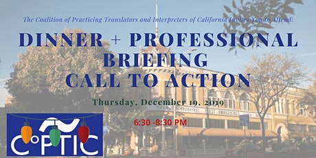 Salinas (Central Coast) Dinner + Briefing + Call to Action tickets