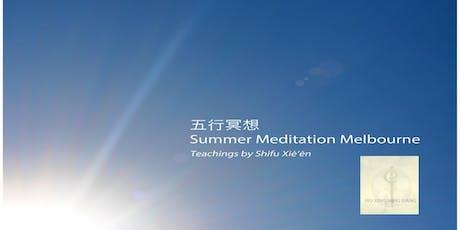 Five Element Meditation Summer - Free Meditation, Mindfulness Docklands tickets