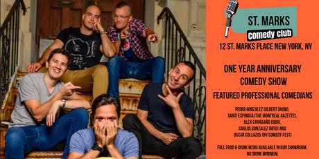 St. Marks Comedy Club - East Village Comedy Show tickets