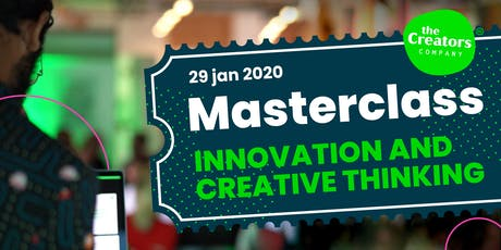 Masterclass Innovation & Creative Thinking tickets