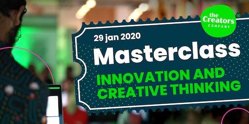 Masterclass Innovation & Creative Thinking