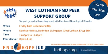 West Lothian FND Peer Support Group tickets