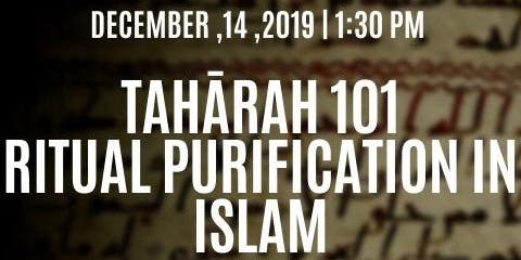 Tahārah 101 Ritual Purification in Islam
