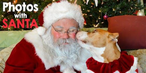 Pet Photos with Santa at HSNB