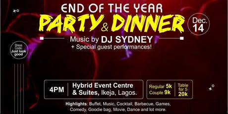 END OF THE YEAR PARTY tickets