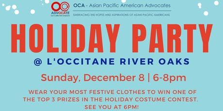 2019 OCA-Greater Houston Supporters Holiday Party tickets