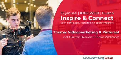 Inspire & Connect |  22 januari
