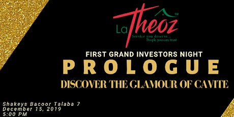 PROLOGUE Discover the glamour of Cavite tickets