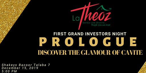 PROLOGUE Discover the glamour of Cavite