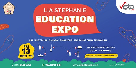 Lia Stephanie Education Expo ft. Vista Education - Jakarta tickets