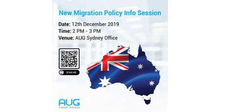 New Migration Policy Info Session tickets