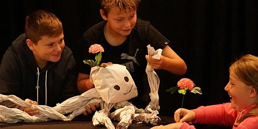 Puppetry of Paper Workshop @ Casula Library: Ages 5-12 yrs