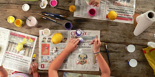 Rock Painting @ Casula Library: Ages 5-12 years