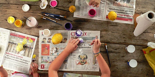 Rock Painting @ Carnes Hill Library: Ages 5-12 years
