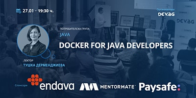 Java: Docker for Java Developers