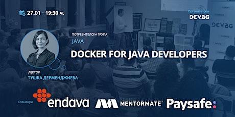 Java: Docker for Java Developers tickets