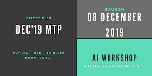 Dec 2019 #mumtechup - Python | Local Hack Day: Build 2019 Mumbai