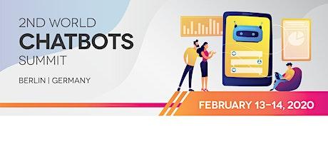2nd World Chatbots Summit tickets