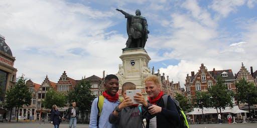 Grote Selfie Game in Gent