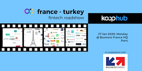 France - Turkey Fintech Roadshow billets