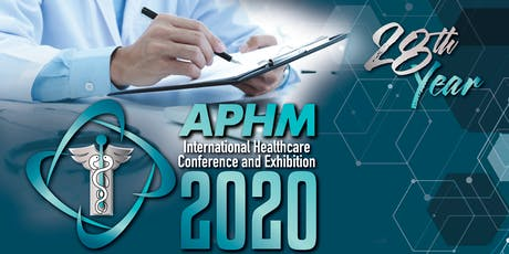APHM International Healthcare Conference and Exhibition 2020 tickets