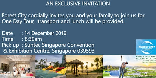 Join us for a complimentary Forest City one day tour on 14 Dec 2019