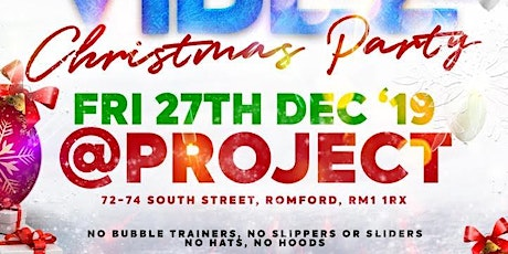 FRIDAY VIBEZ  : Christmas Party tickets