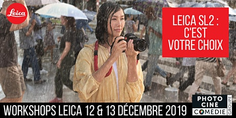 Workshops Leica - Studio & Street Photography billets