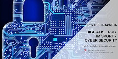 Digitalisierung im Sport - Cyber Security Tickets