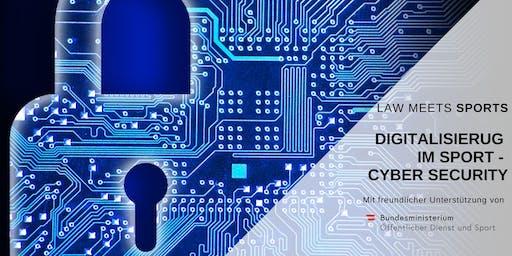 Digitalisierung im Sport - Cyber Security