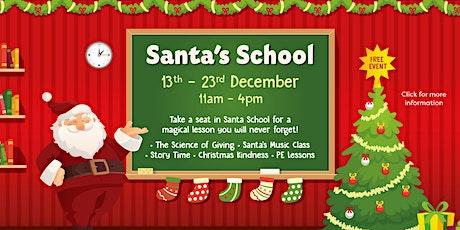 Santa's School tickets